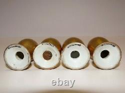 36 Pc Rare Antique Superior Bavaria 22k Gold Encrusted Tea Cup Saucer Plate Set