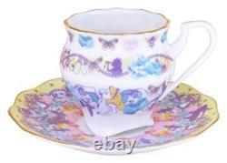 Alice in Wonderland Butterfly Cafe cup & saucer tea set Demitas cafe For Spresso