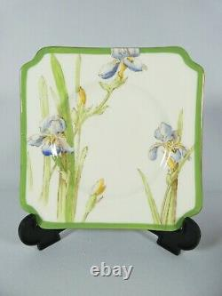 Antique Art Deco Royal Doulton Iris 21pc Tea Set Trio Cup Saucer Plate V1346