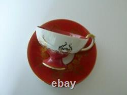 Aynsley D. JONES Orchard Fruits Bone China Tea Cup & Saucer Set
