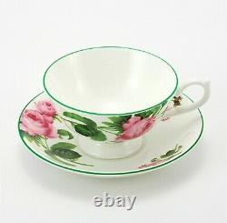 Aynsley, Fine Bone China, English Rose Tea Cup and Saucer Athens, Set of 2, NEW