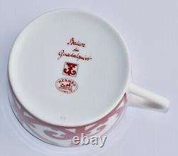 Boxed HERMES Balcon du Guadalquivir 2 x Tea Cup & Saucer Set