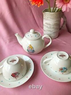 Disney Alice in Wonderland Tea Time Set Cup Saucer