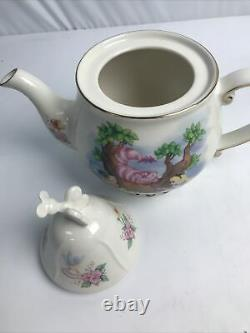 Disney Parks Alice in Wonderland Tea Set Coffee Mug Tea Cup Saucer Teapot