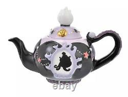 Disney Store Japan Ursula Tea Pot & 2x Tea Cup & Saucer Set The Little Mermaid