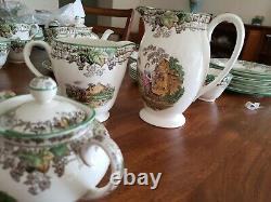 ENGLAND SPODE'S BYRON. 20 pieces. Tea set (6). In perfect condition