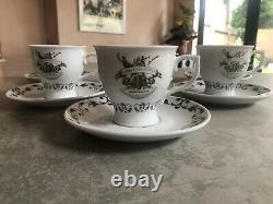 Hendricks gin Collectable tea Pot And Cup And Saucer Set Rare