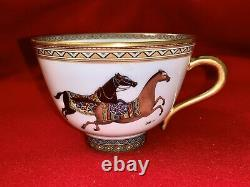 Hermes CHEVAL d'ORIENT Tea Cup and Saucer Set