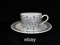 Hermes H DECO Tea Cup and Saucer Set