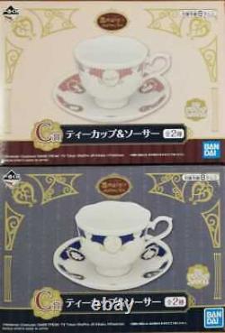 Ichiban Kuji Pokemon Mimikyu Antique & Tea C Prize Cup & Saucer set BANDAI