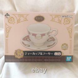 Ichiban Kuji Pokemon Mimikyu C Prize tea cup & Saucer set BANDAI Anime JAPAN FS