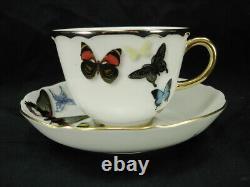 Nib Christian Lacroix Vista Alegre Butterfly Parade Tea Cup & Saucer Set