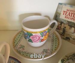 RARE FIND Mary Engelbreit Tea Cup & Saucer Collection (12 full sets) UNUSED