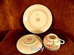 Rare Royal Worcester 3 Pc Breakfast Set-tea Cup, Saucer & Plate-645539-england