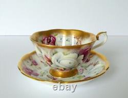 Royal Albert Summer Bounty Series PEARL Tea Cup & Saucer Set