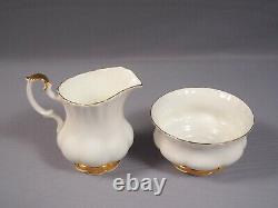 Royal Albert Val D'Or Coffee Tea Set Cup Saucer Teapot Sugar Bowl Creamer