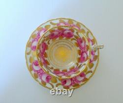 Royal Chelsea Pink Roses Tea Cup & Saucer Set
