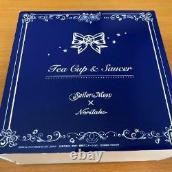 Sailor Moon Premium Bandai Noritake Collaboration Tea Cup Saucer Set