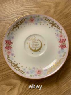 Sailor Moon Premium Bandai Noritake Collaboration Tea Cup saucer set #0755