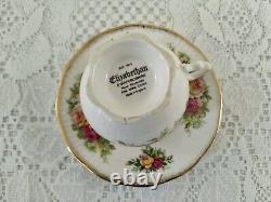 Set of 6 Elizabethan Tea cup And Saucer, Porcelain English