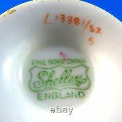 Striking Hydrangea Chintz Summer Glory Shelley Tea Cup and Saucer Set
