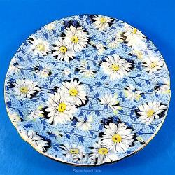 Stunning and Rare Blue Daisy Chintz Shelley Tea Cup and Saucer Set