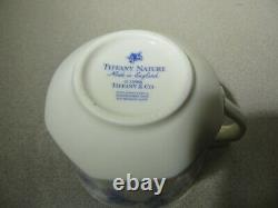 TIFFANY & Co. Coffee / Tea Cup & Saucer Set NATURE -Blueberry