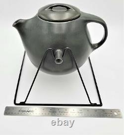 VTG Raymor By Roseville Swinging Coffee Pot 8 Cup/Saucer Sets 1952-54 Ben Seibel