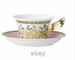Versace Le Jardin Tea Cup Saucer Set Rosenthal New In Box Christmas Sale