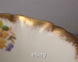 Vintage Hammersley Dresden Sprays Part Tea Set Trios Cup Saucer Plates