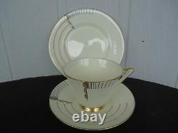 Vintage royal doulton magna trio tea cup & saucer plate set #2